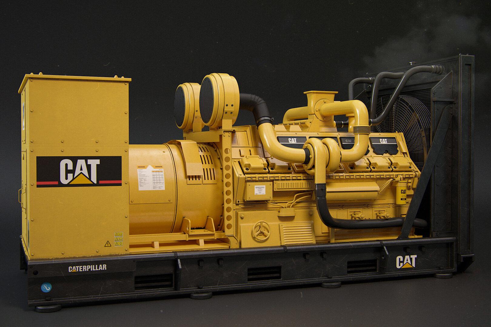 cat-electric-diesel-generator-installation