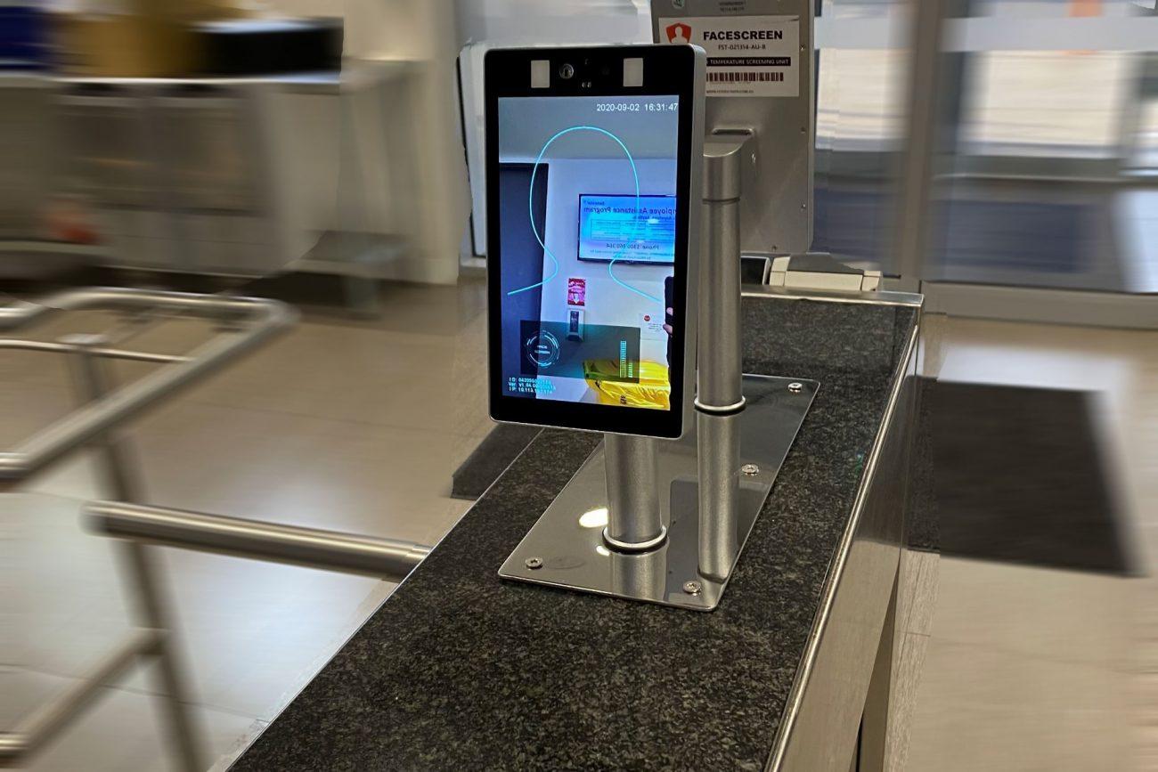 feverscreen access control system facial recognition