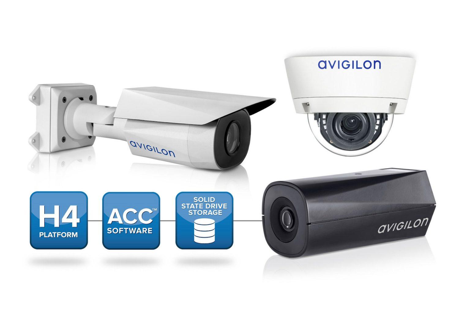 microngroup avigilon H4ES cctv network camera line up