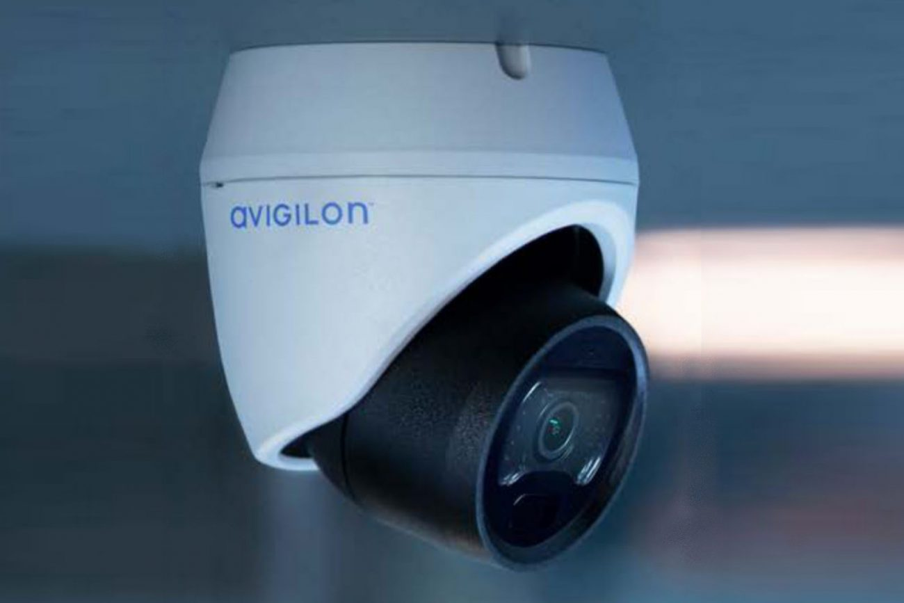 microngroup avigilon H5 network cctv camera
