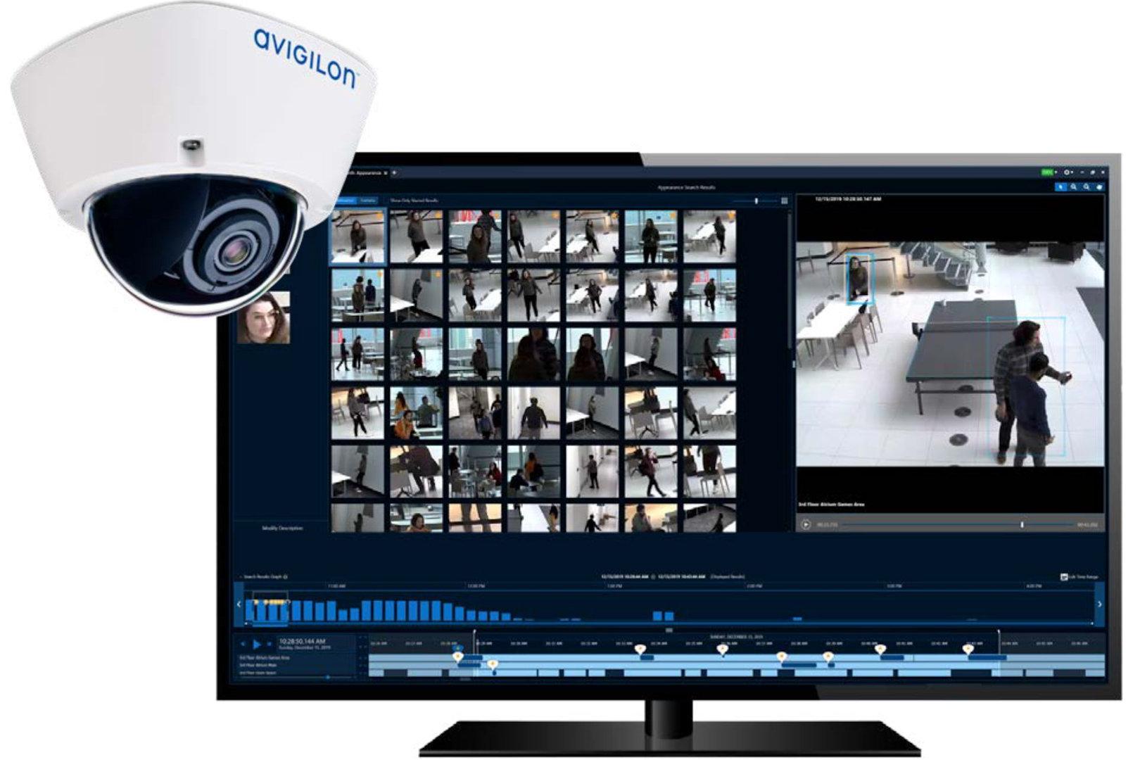 avigilon cctv analytics software