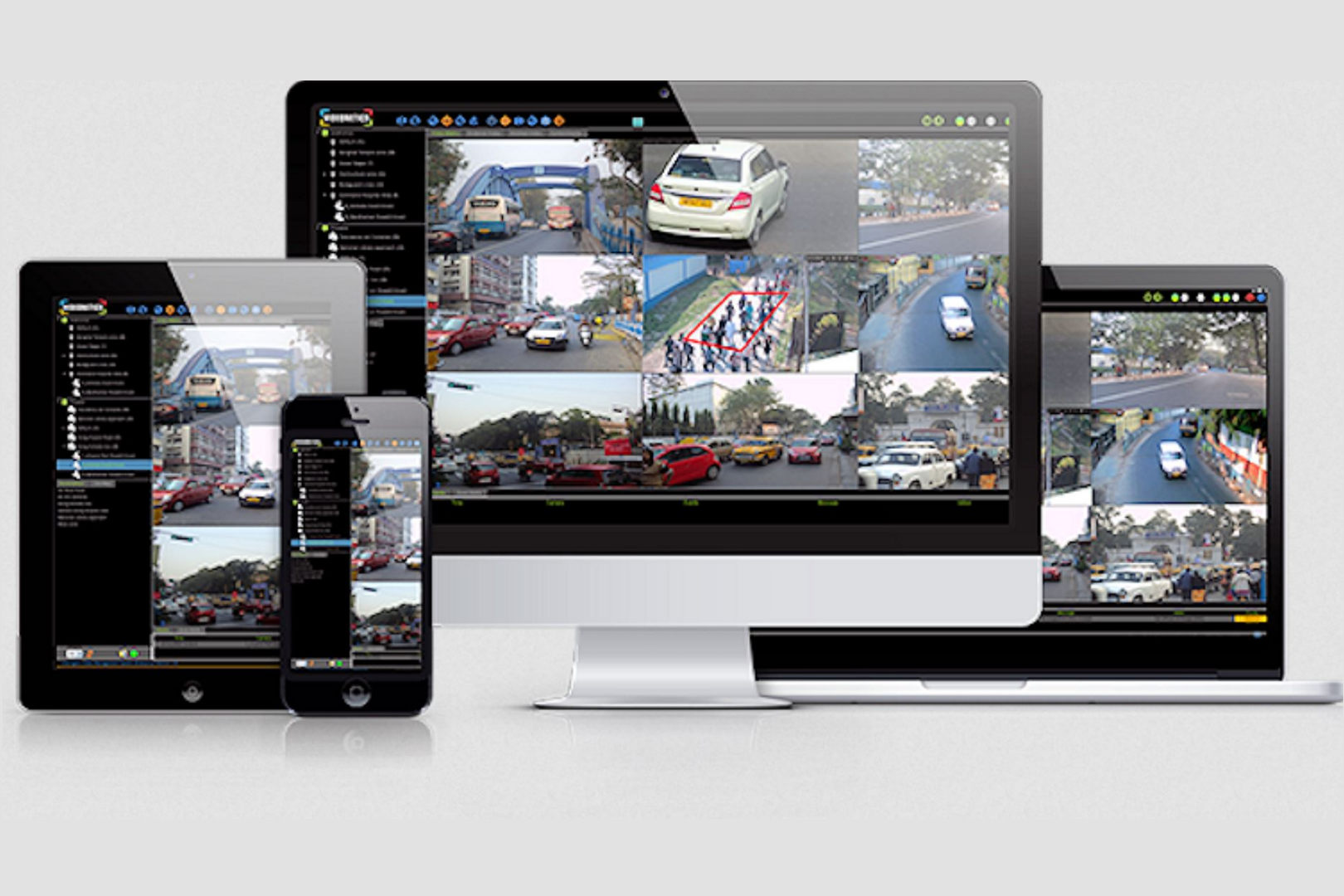 microngroup axis cctv software with iphone ipad tablet app