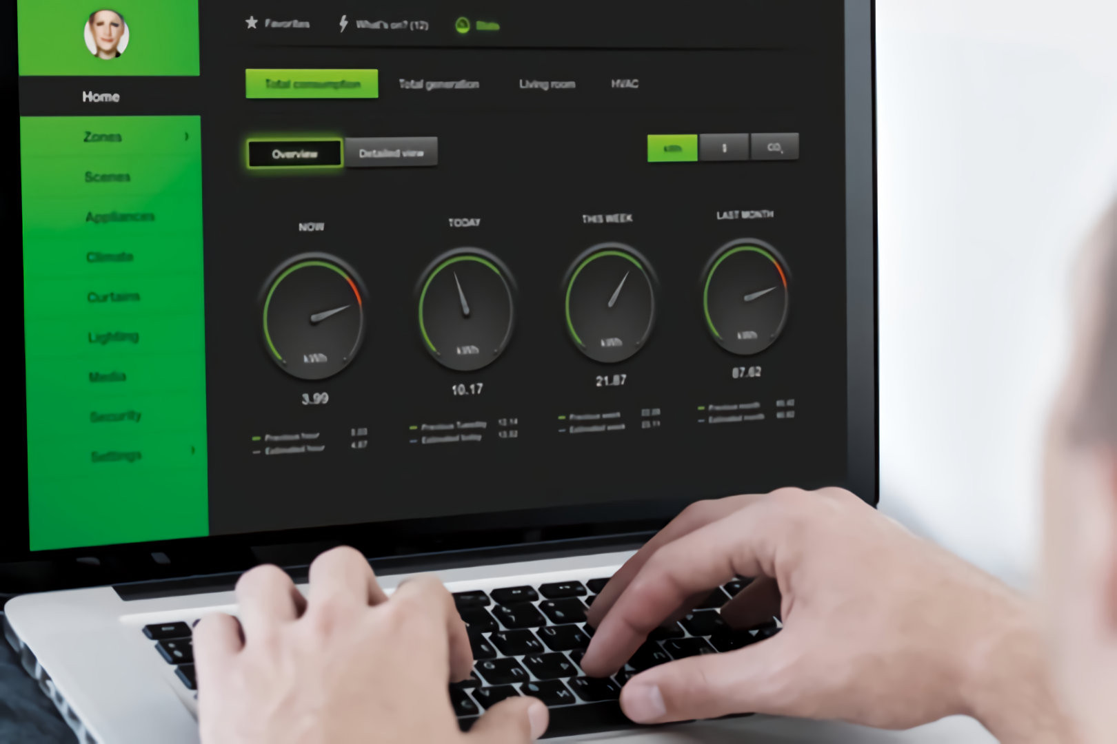clipsal cbus wiser metering software installed by microngroup
