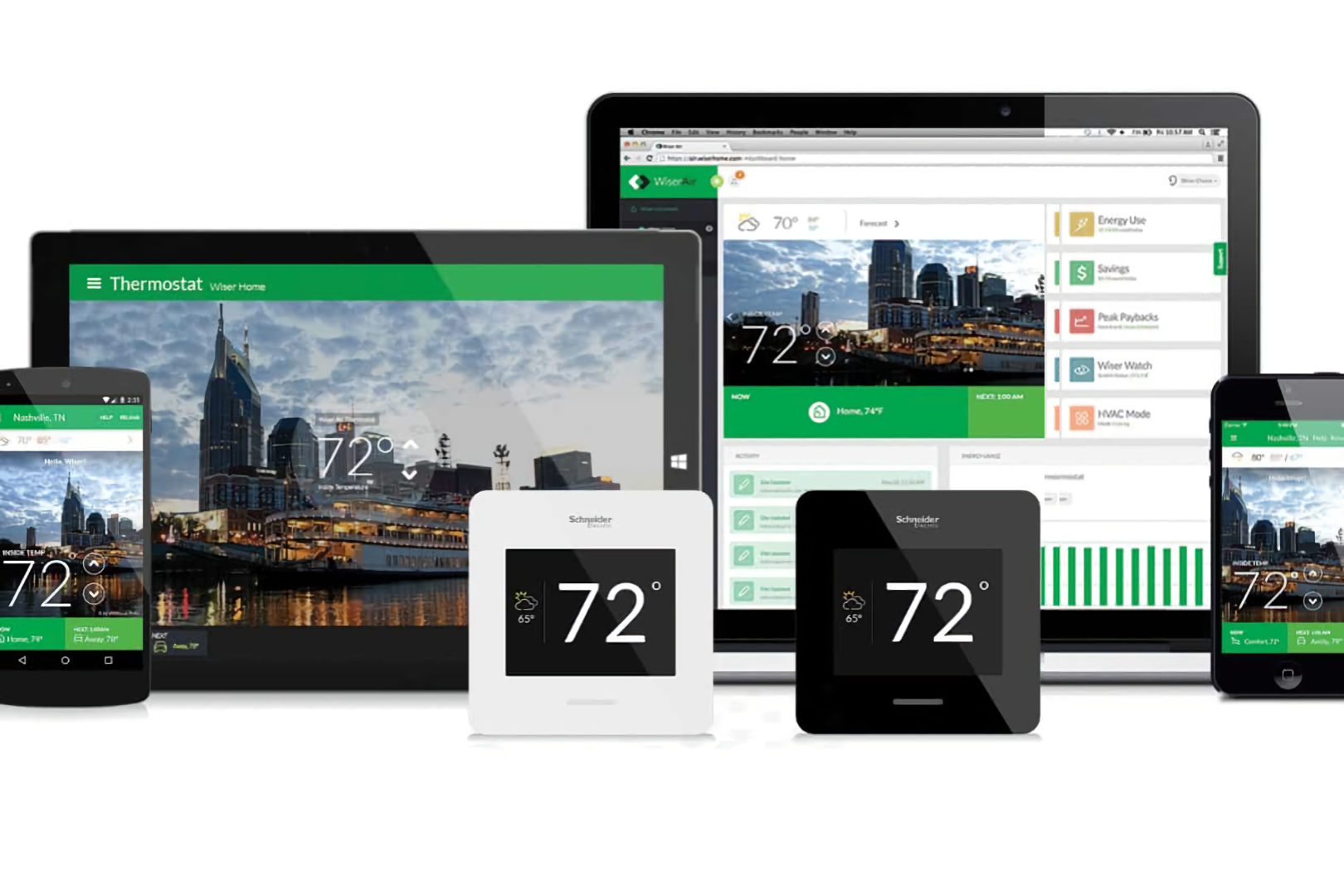 clipsal cbus lighting automation wiser software on PC and tablet