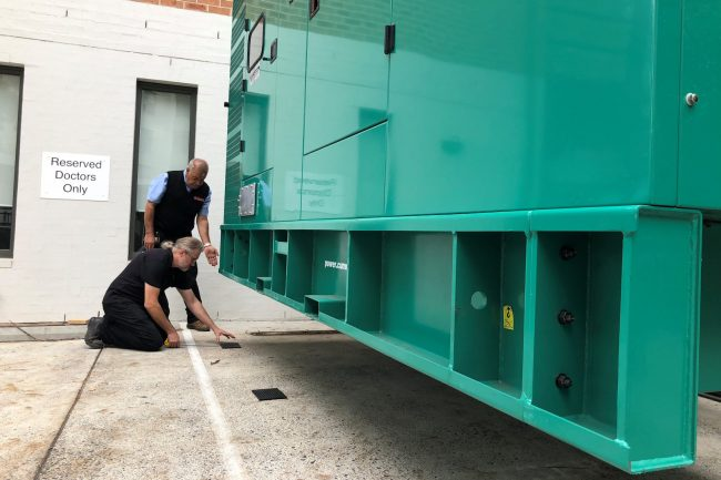 cummins generator installation by electricians