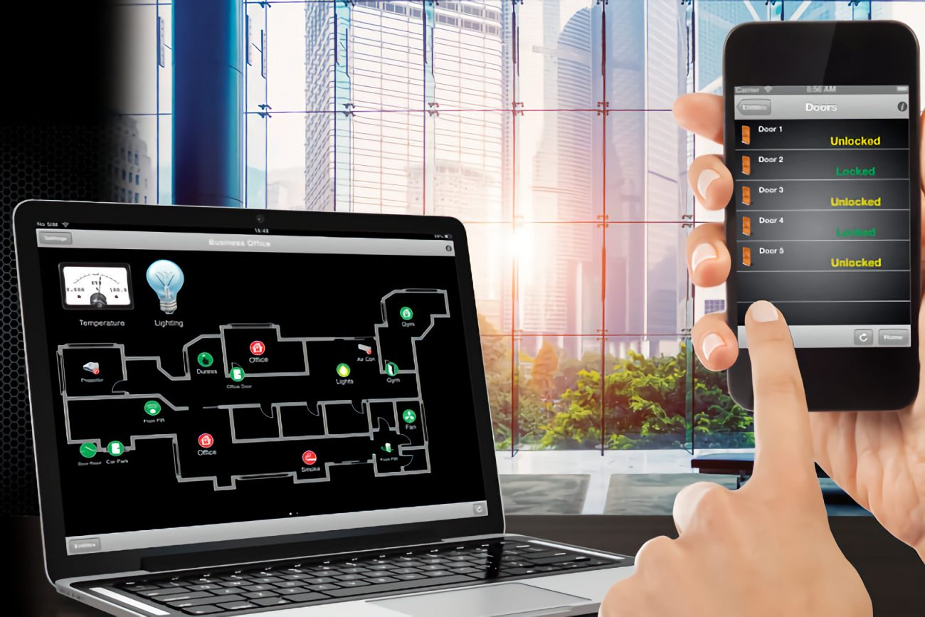 microngroup innerrange integriti computer access control software with phone app