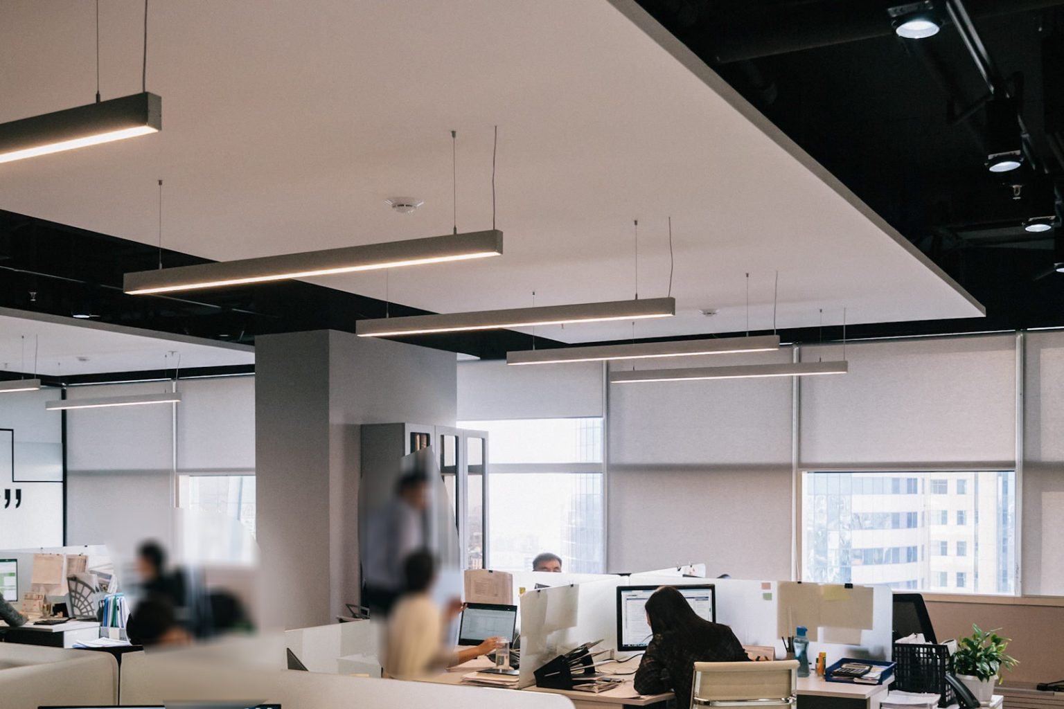 office lighting installation repair and replacement